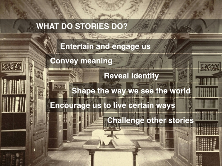 What do stories do.001